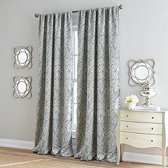 Damask Marlena Lined Window Curtain