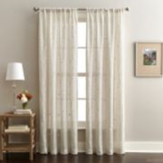 Window Curtainworks 1-Panel Lynette Embroidered Sheer Window Curtain