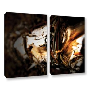 ArtWall Mend Rope & Tree Canvas Wall Art 2-piece Set