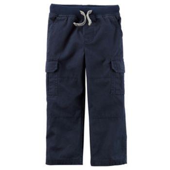 Toddler Boy Carter's Canvas Pants