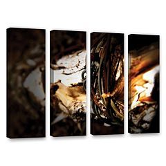 ArtWall Mend Rope & Tree Canvas Wall Art 4-piece Set