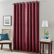 Majestic Chenille Room Darkening Window Curtain
