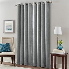 Majestic 1-Panel Chenille Room Darkening Window Curtain