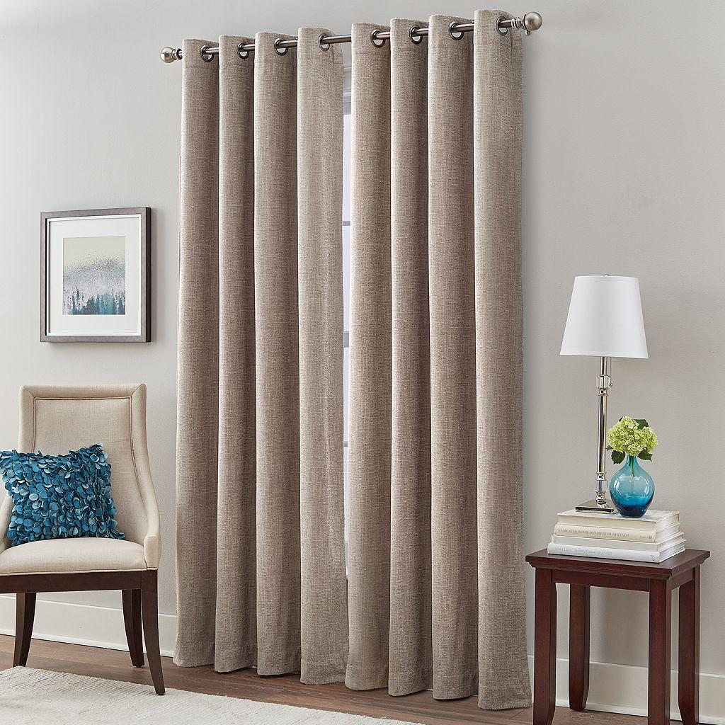 Majestic Chenille Room Darkening Curtain