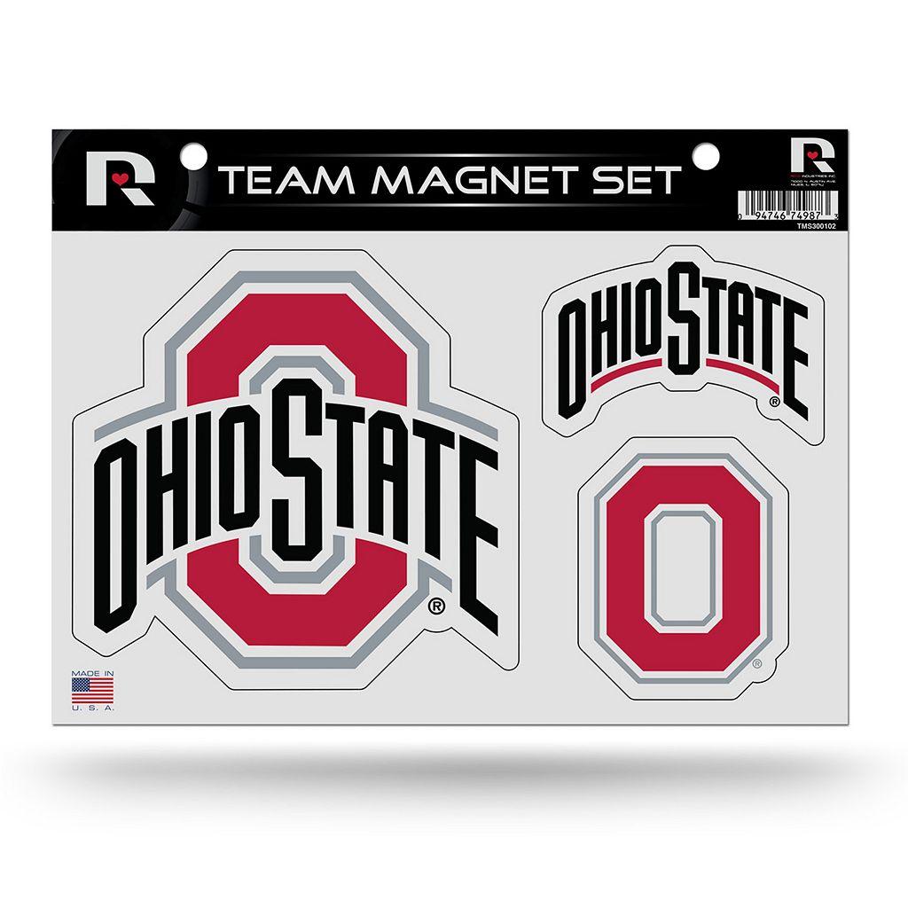 Ohio State Buckeyes Team Magnet Set