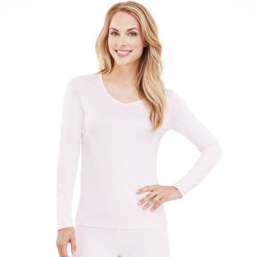 Women's Cuddl Duds ClimateSmart V-Neck Top