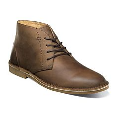 Nunn Bush Galloway Men's Plain Toe Leather Casual Chukka Boot