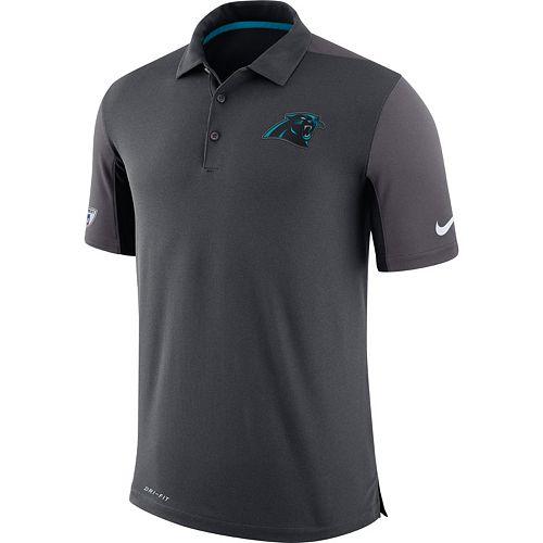 Men's Nike Carolina Panthers Team Issue Dri-FIT Polo
