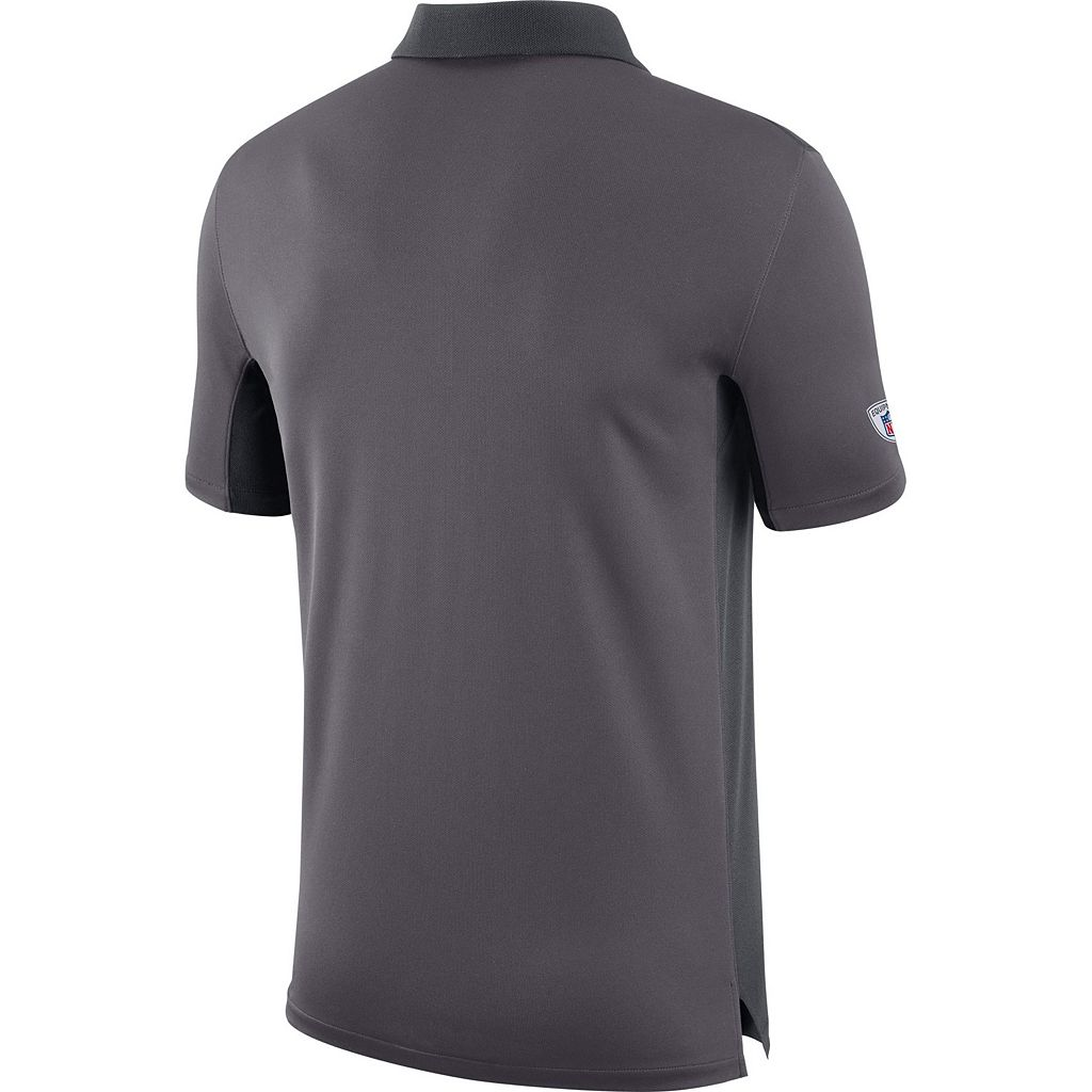 Men's Nike Carolina Panthers Team Issue Dri-FIT Polo