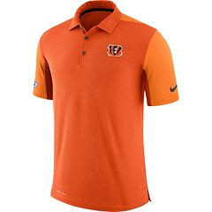 Men's Nike Cincinnati Bengals Team Issue Dri-FIT Polo