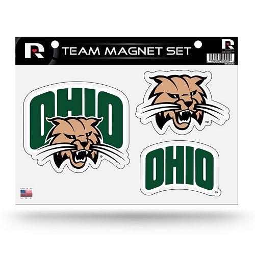 Ohio Bobcats Team Magnet Set