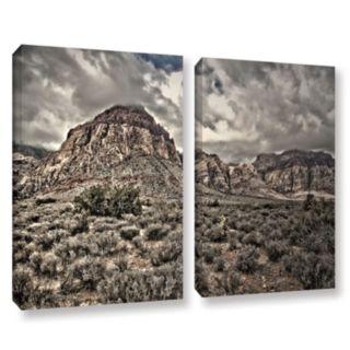 ArtWall ''No Distractions'' Canvas Wall Art 2-piece Set