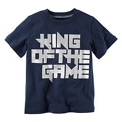 Toddler Boy Carter's 'King of the Game' Tee