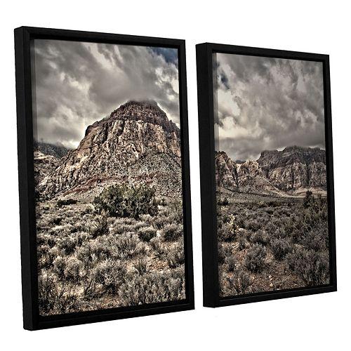 ArtWall ''No Distractions'' Framed Wall Art 2-piece Set