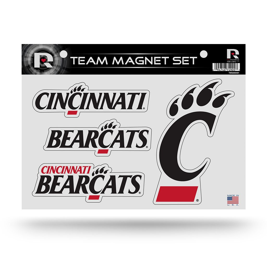 Cincinnati Bearcats Team Magnet Set