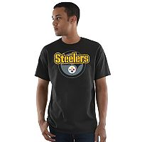 Men's Majestic Pittsburgh Steelers Pick Six Tee