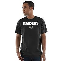 Men's Majestic Oakland Raiders Pick Six Tee