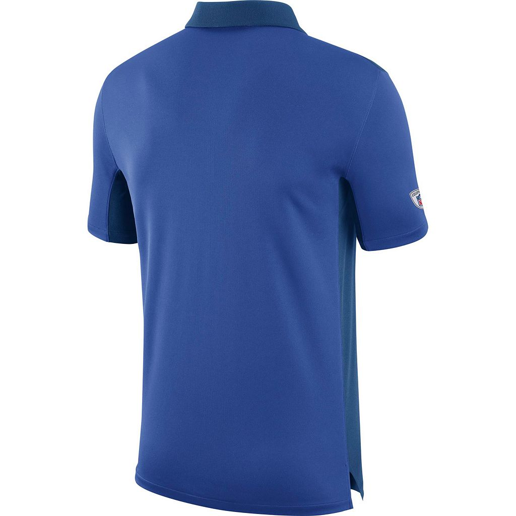Men's Nike Indianapolis Colts Team Issue Dri-FIT Polo