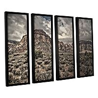 ArtWall ''No Distractions'' Framed Wall Art 4-piece Set