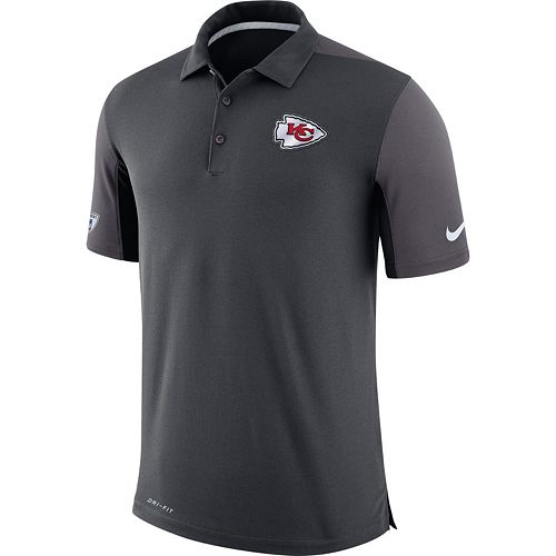 Men's Nike Kansas City Chiefs Team Issue Dri-FIT Polo