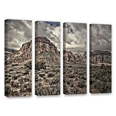 ArtWall ''No Distractions'' Canvas Wall Art 4-piece Set
