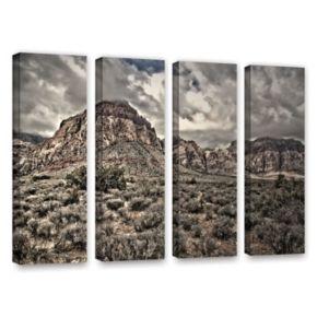 ArtWall ''No Distractions'' Canvas Wall Art 4-piece Set
