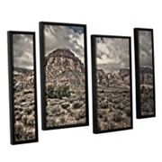 ArtWall ''No Distractions'' Staggered Framed Wall Art 4 pc Set
