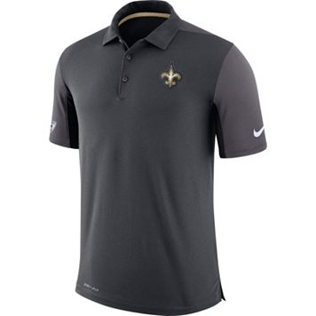 Men's Nike New Orleans Saints Team Issue Dri-FIT Polo