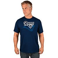 Men's Majestic Los Angeles Rams Pick Six Tee