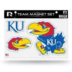 Kansas Jayhawks Team Magnet Set