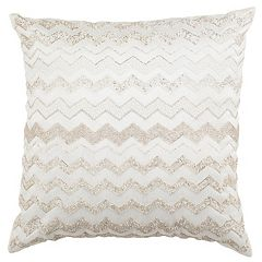 Safavieh Olivia Flamestitch Throw Pillow