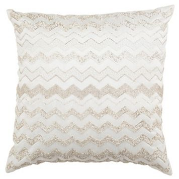 Safavieh Olivia Flamestitch Throw Pillow