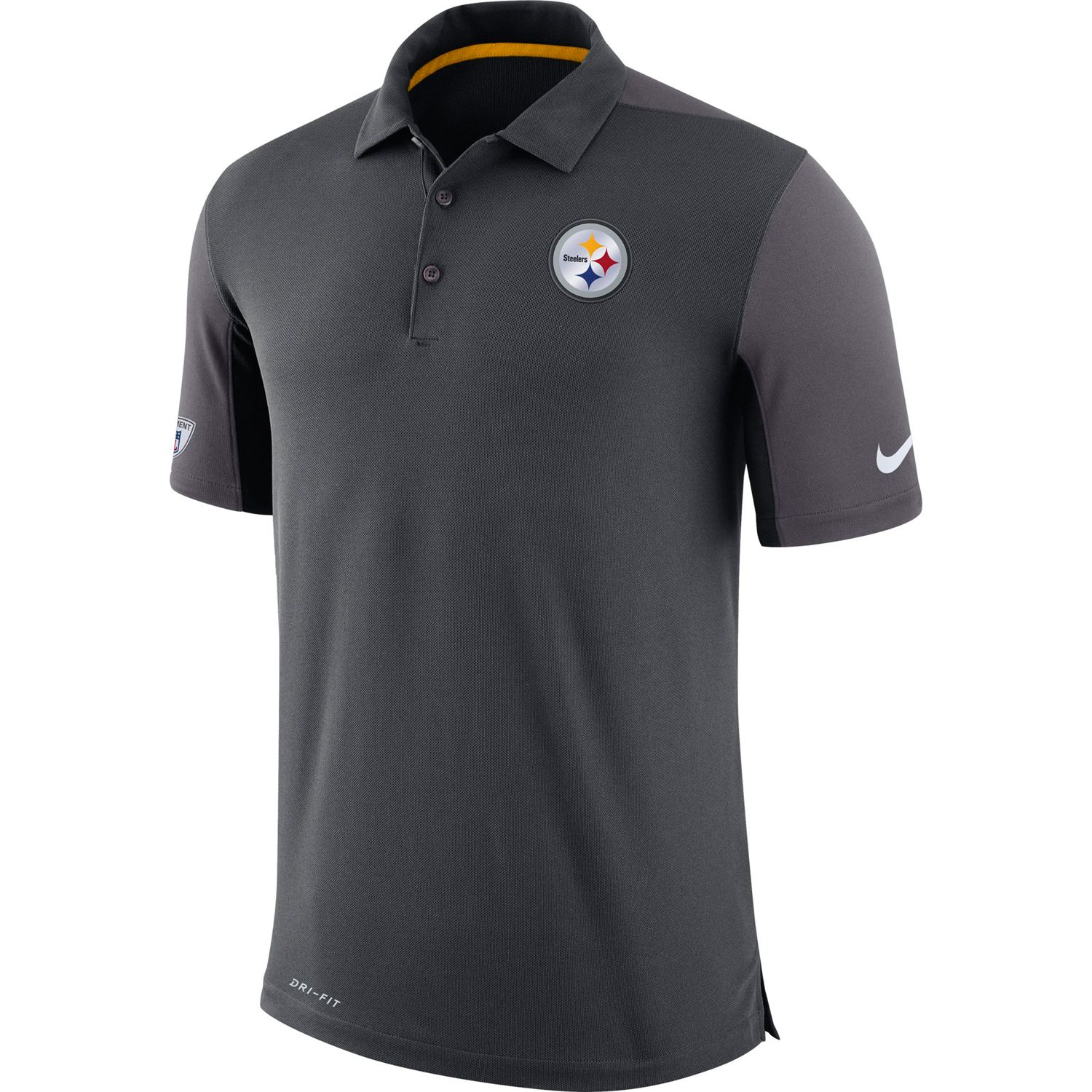 Pittsburgh Steelers Team Issue Dri-FIT Polo