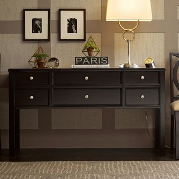 Madison Park Signature 6-Drawer Console Table