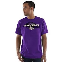 Men's Majestic Baltimore Ravens Pick Six Tee