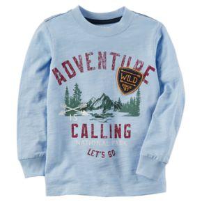 "Toddler Boy Carter's ""Adventure Calling"" Graphic Tee"