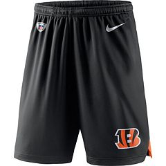 Men's Nike Cincinnati Bengals Knit Dri-FIT Shorts