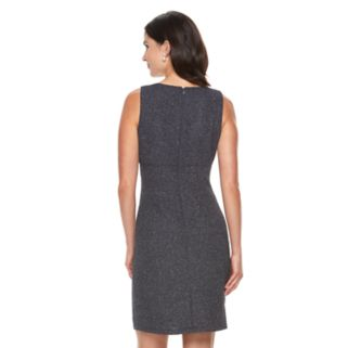 Women's Jessica Howard Glitter Cutout Sheath Dress