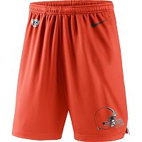 Men's Nike Cleveland Browns Knit Dri-FIT Shorts