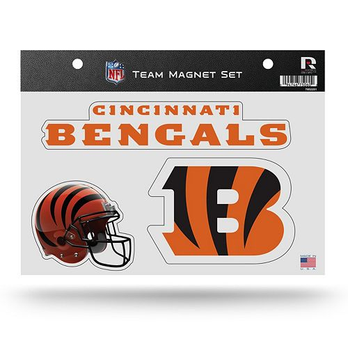 Cincinnati Bengals Team Magnet Set