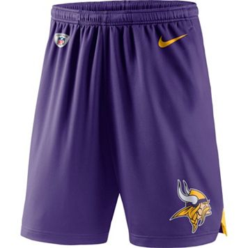 Men's Nike Minnesota Vikings Knit Dri-FIT Shorts