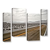 ArtWall ''Slow Curves'' Canvas Wall Art 4-piece Set