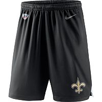 Men's Nike New Orleans Saints Knit Dri-FIT Shorts