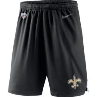 Men's Nike New Orleans Saints Knit Dri-FIT Shorts