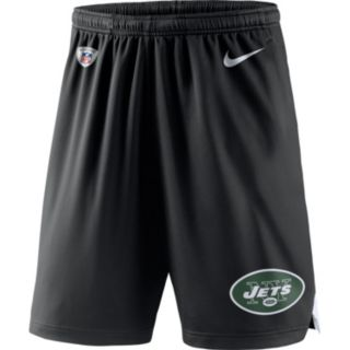 Men's Nike New York Jets Knit Dri-FIT Shorts