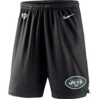 Men's Nike New York Jets Knit Dri-FIT Shorts