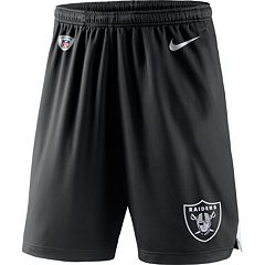 Men's Nike Oakland Raiders Knit Dri-FIT Shorts
