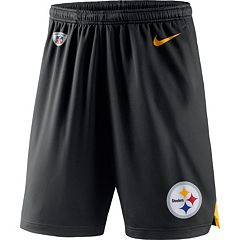 Men's Nike Pittsburgh Steelers Knit Dri-FIT Shorts