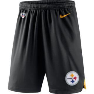 Men's Nike Pittsburgh Steelers Knit Dri-FIT Shorts
