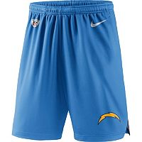 Men's Nike San Diego Chargers Knit Dri-FIT Shorts
